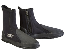 Akona 6mm Medium Sole Zipper Seco Dive Boots