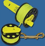 Innovative Scuba Concepts Finger Spool with Hand Winders
