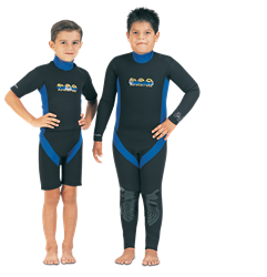 Tilos 2mm Adventure Shorty Wetsuit - Kids
