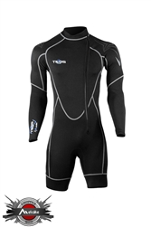 Tilos 1mm Helios Metalite Long Sleeve Shorty Wetsuit