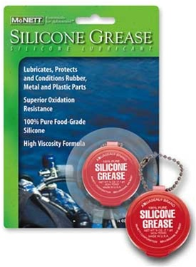 McNett Silicone Grease 100% Pure Silicone Lubricant Key Chain
