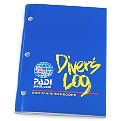 PADI Blue Divers Log and Training Record