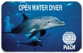 PADI Replacement Certification Card