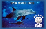 PADI Open Water Certification Course (Classroom,Pool,Openwater Dives)